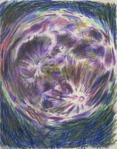 Colored Pencil and Pencil on Paper, 14 x 11 in., 2008