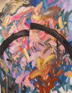 """Black Archs,"" Oil on Canvas, 2008"