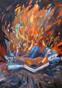 """""""Poetry,"""" Oil on Panel, 36 x 24 in, 2008"""