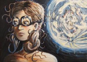 Upside-Down Glasses of the Swan Princess
