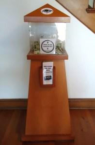 Angel Island Donation Box