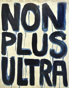 """""""Non Plus Ultra,"""" Water Soluble Oil on Canvas, 20 x 16 in, April 2012"""